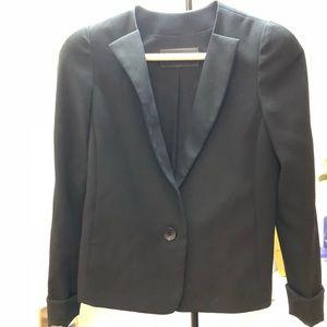 BCBG black blazer